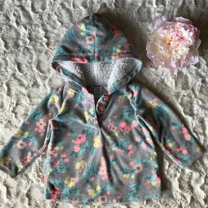 Baby Girl - Carter's -Fleece Hoodie